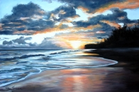 Blacksand Sunset