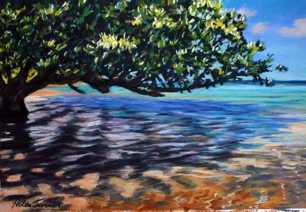 "Shade Painting Anini Shade"" Paintinghelen Turner Kauai Artist  Hawaiian ."