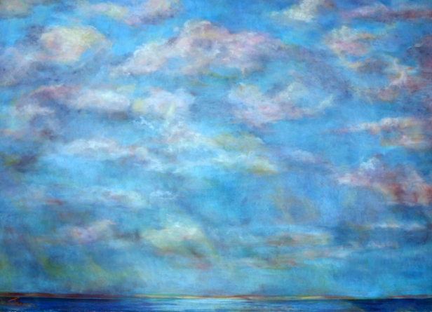 Distant Shores, Hawaiian artwork by Helen Turner