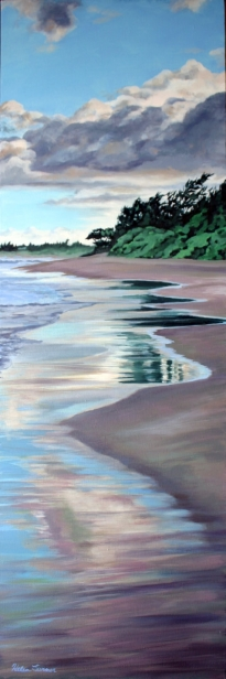East, pastel artwork by Kauai artist Helen Turner