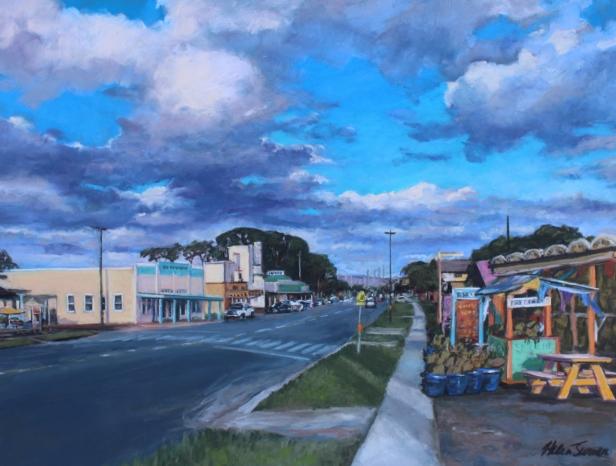 Kauai Artist Helen Turner - Kauai pastel and oil paintings
