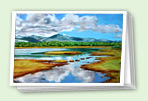 New Landscapes greeting card set